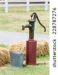 Retro Style Hand Water Pump ...