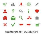 internet buttons  vector... | Shutterstock .eps vector #22883434