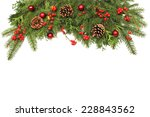 winter or christmas background | Shutterstock . vector #228843562