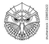 Ethnic Style Eagle's Head...