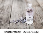 Lavender Flowers And Glass...