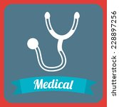 medical graphic design   vector ... | Shutterstock .eps vector #228897256