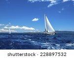 Sailing Ship Yachts. Sailing...