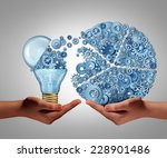 investing in ideas business... | Shutterstock . vector #228901486