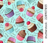 Yummy Colorful Cream Cupcake...