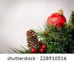 christmas decoration | Shutterstock . vector #228910516