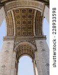 triumphal arch seem from below. ... | Shutterstock . vector #228933598