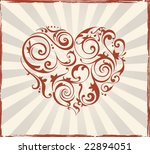 valentine's day background | Shutterstock .eps vector #22894051
