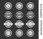 satisfaction guarantee quality... | Shutterstock .eps vector #228956176