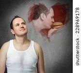 food love | Shutterstock . vector #228969178