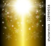 christmas background with... | Shutterstock .eps vector #228984016