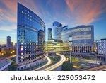 paris. image of office... | Shutterstock . vector #229053472