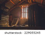 Old Attic Of A House  Hidden...