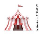 circus tent | Shutterstock . vector #229082362