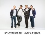 group of successful businessmen | Shutterstock . vector #229154806