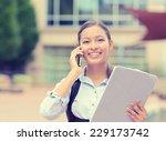 successful businesswoman or...   Shutterstock . vector #229173742