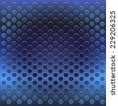 metal texture with grid... | Shutterstock .eps vector #229206325