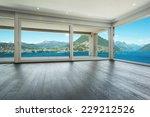 interior  modern house  empty... | Shutterstock . vector #229212526