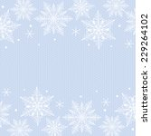 christmas card with snowflakes... | Shutterstock .eps vector #229264102
