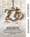 2015 new year and happy... | Shutterstock .eps vector #229278055