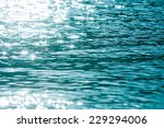 Blue Water Ripple   Waves...