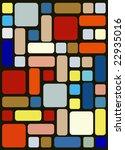 nice colourful tiles | Shutterstock .eps vector #22935016
