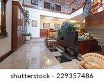 hotel lobby interior | Shutterstock . vector #229357486