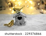 beautiful christmas composition ... | Shutterstock . vector #229376866