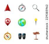 mobile gps navigation and...   Shutterstock .eps vector #229385962