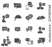 chat communication conversation ...   Shutterstock .eps vector #229385968