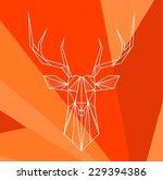 vector hipster abstract... | Shutterstock .eps vector #229394386
