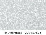 white glitter christmas... | Shutterstock . vector #229417675
