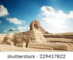 sphinx giza  egypt.  | Shutterstock . vector #229417822