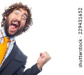 young crazy man | Shutterstock . vector #229431652