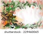 beautiful graphic design of... | Shutterstock . vector #229460065