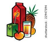 juice | Shutterstock .eps vector #22947394