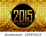 vector   happy new year 2015  ...