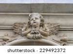 Cherub Ancient Sculpture On Th...
