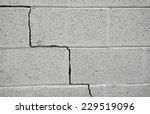 Crack In A Cinder Block...