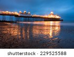 Eastbourne Pier At Dusk...