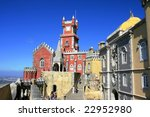 the national palace of pena | Shutterstock . vector #22952980