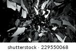 glass breaking with motion blur ... | Shutterstock . vector #229550068
