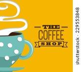 Coffee Graphic Design   Vector...