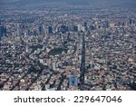 mexico city aerial view... | Shutterstock . vector #229647046