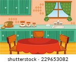 kitchen | Shutterstock .eps vector #229653082