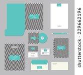 stationary template design.... | Shutterstock .eps vector #229662196