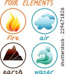 four elements | Shutterstock .eps vector #229671826