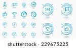 set of award icons  logos.... | Shutterstock . vector #229675225