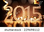 Elegant Gold 2015 New Year...