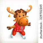reindeer  vector icon | Shutterstock .eps vector #229702345